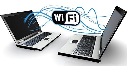 wireless-Wi-Fi-network-on-a-laptop