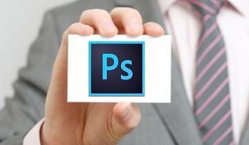 Как сделать визитку в фотошопе