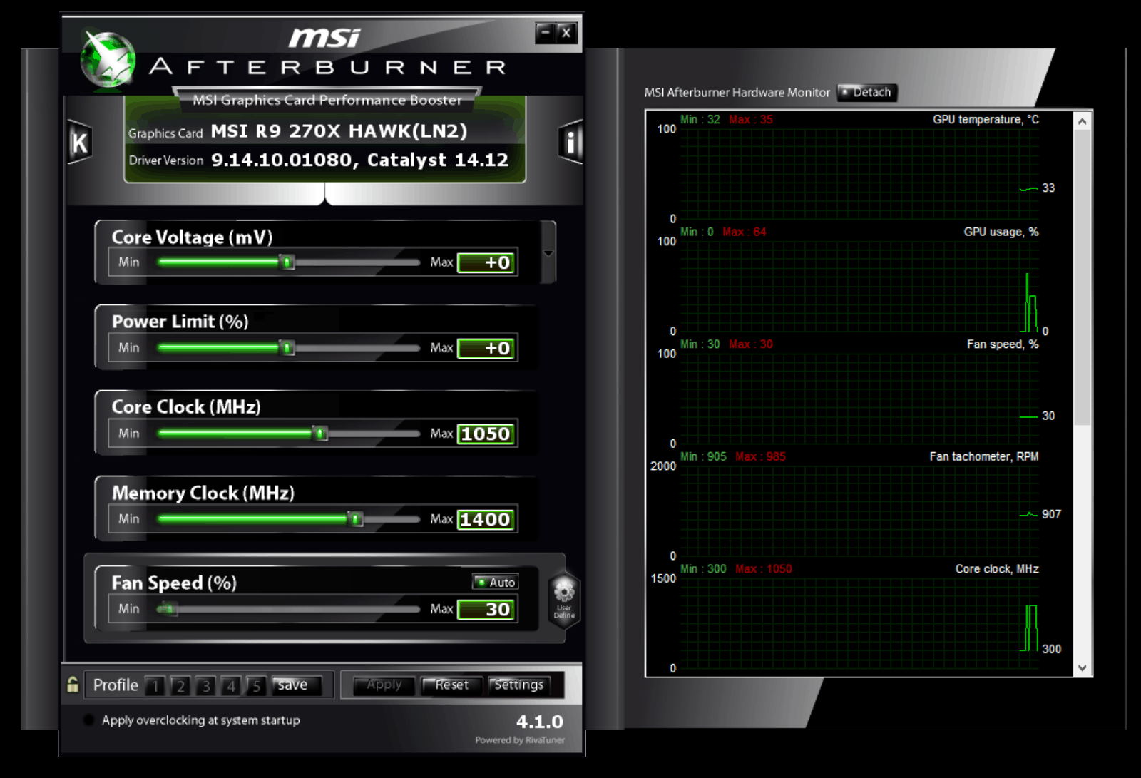 Скачать Msi Afterburner на русском