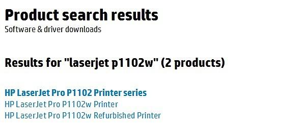 Hp Laserjet Pro P1102w драйвер