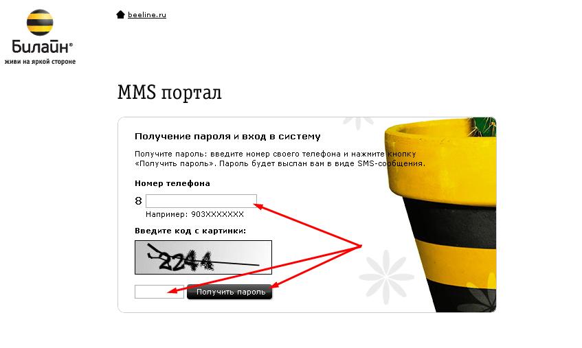 Как отправить ММС на Билайн бесплатно
